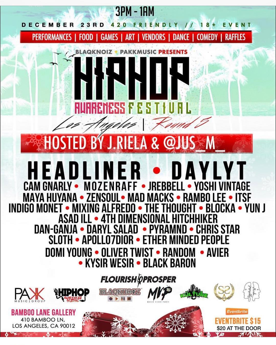 @hiphopafest going down today 3pm! Who'll be there? #newmusic #hiphop #rap #newr... 1