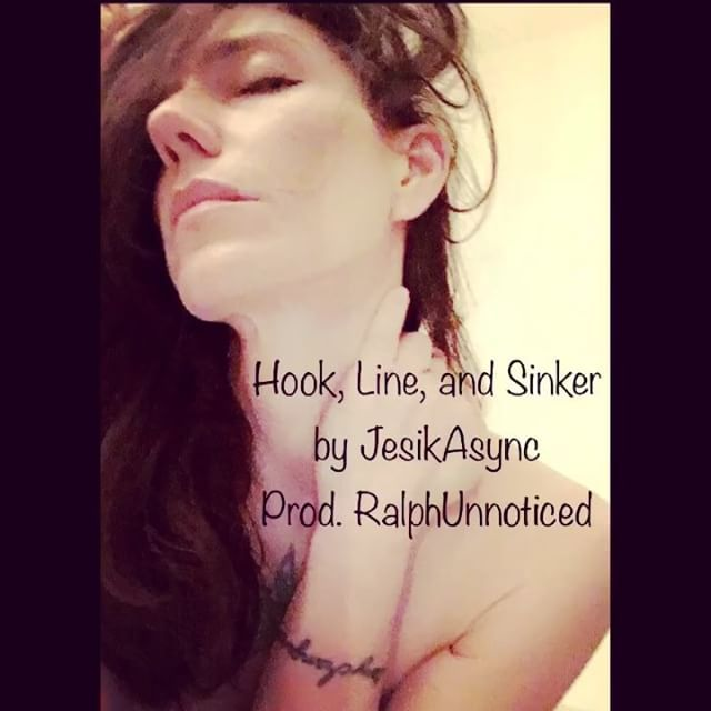 "Yeah, spamming clips of my new song🤦‍️🤷‍️ ""Hook, Line, and Sinker"" by JesikAsync..."