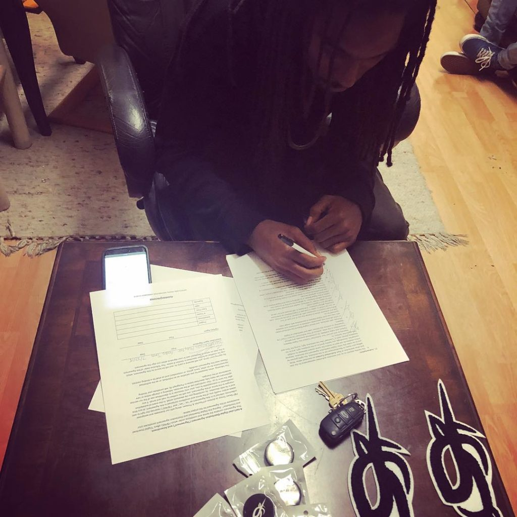 @themostcritical signs distribution deal with @flourishprosper #musicgroup. Welc...