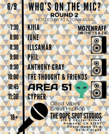 UPDATED LINEUP ‼️ Due to unforeseen circumstances, half of @anthrolyricology is ...