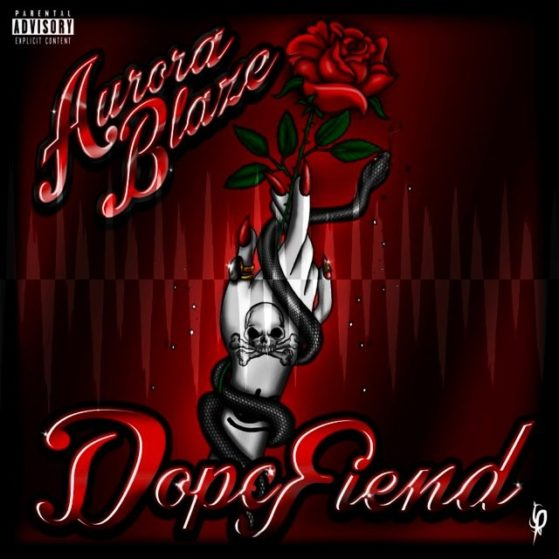 "@aurora_blaze drops ""Dope Fiend"" this Friday on all digital outlets. #rnb #trap..."