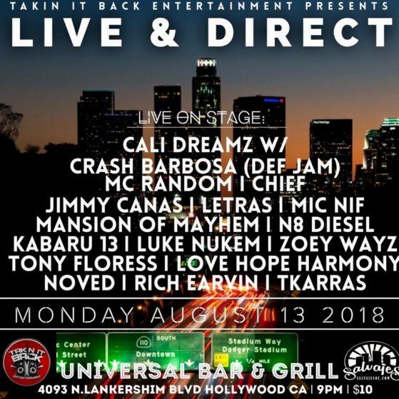 ((TONIGHT)) we in Hollywood!! #MondayNight #ModayNightTurnUp #TurnUp #Caliplatfo...
