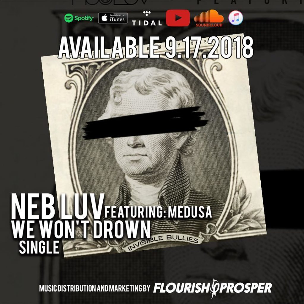 "@d1rtyredd featuring @legendmedusa ""We won't drown"" Now available on all streami..."