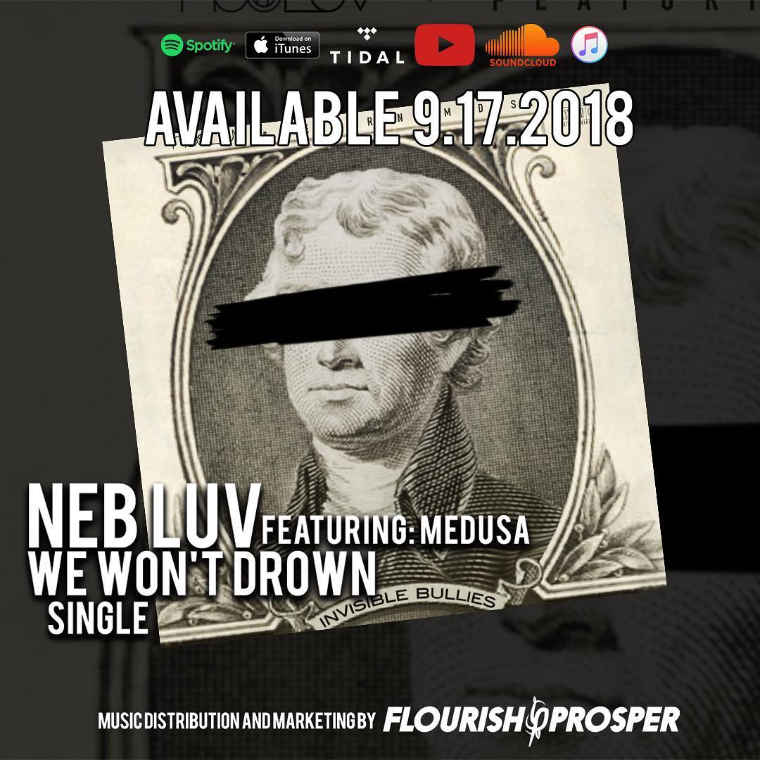 "@d1rtyredd featuring @legendmedusa ""We won't drown"" Now available on all streami... 1"