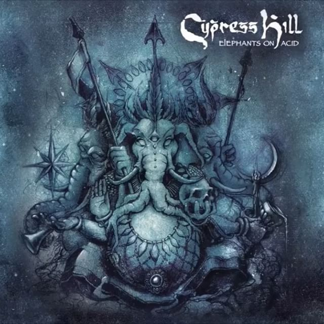 """Warlord"" off Elephants on Acid #cypresshill Click the bio link #flourishprosper..."