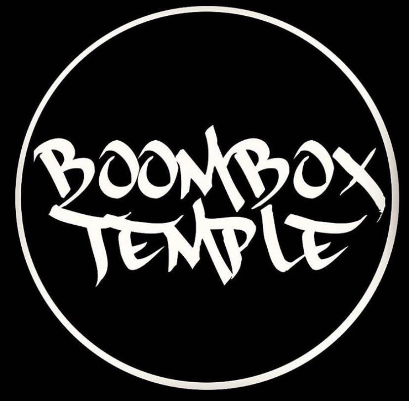 Mic Hempstead's BoomBox Temple Records logo