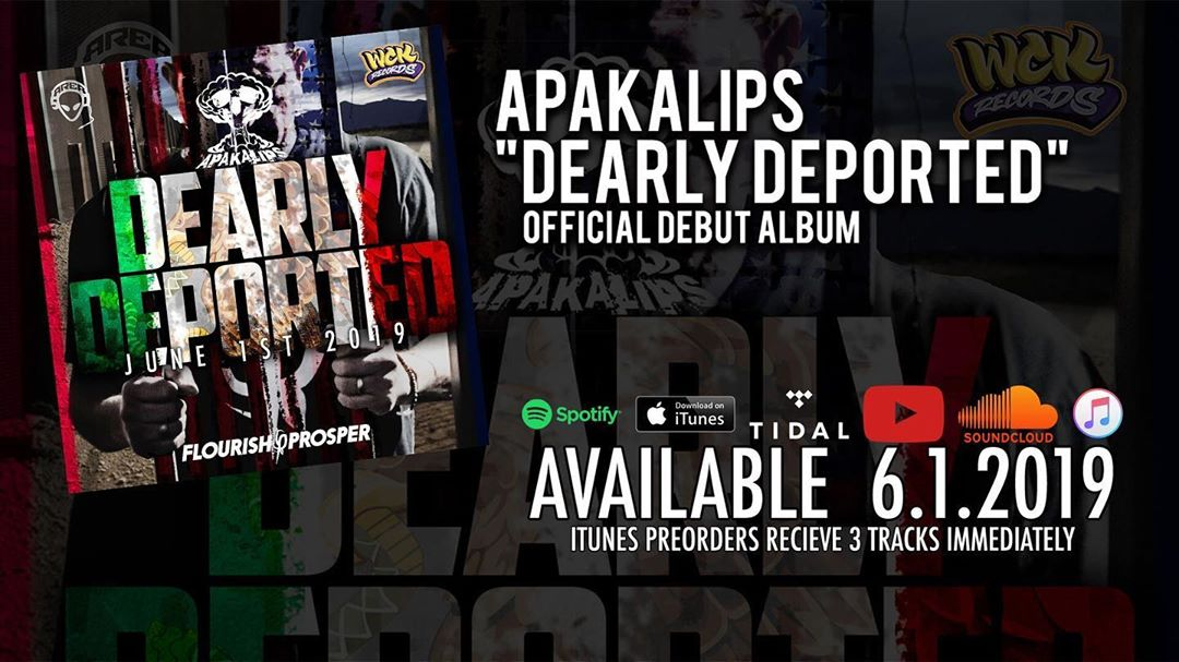 Dearly Departed @Apakalips debut album available June 1st on all digital platfor... 1