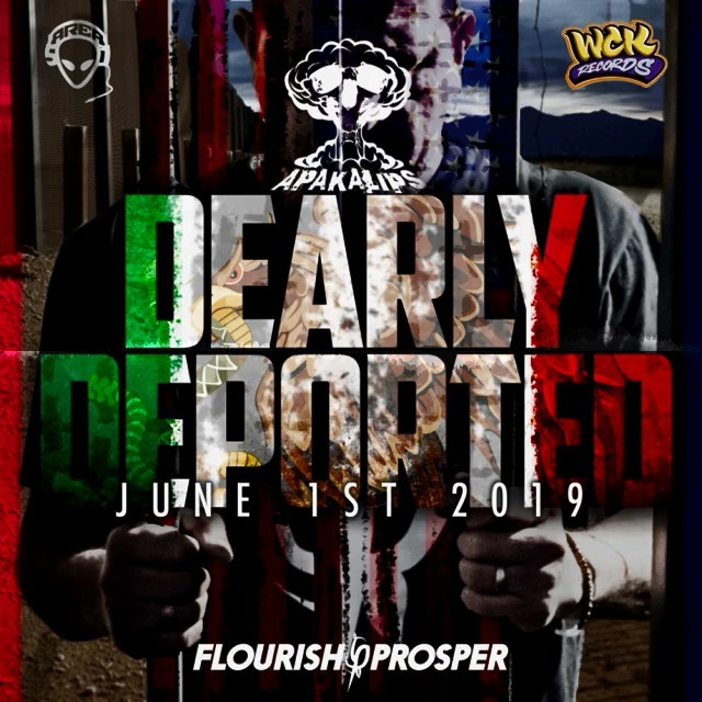 It's the end of the world as we know it! @apakalips #dearlydeported album drops ... 1
