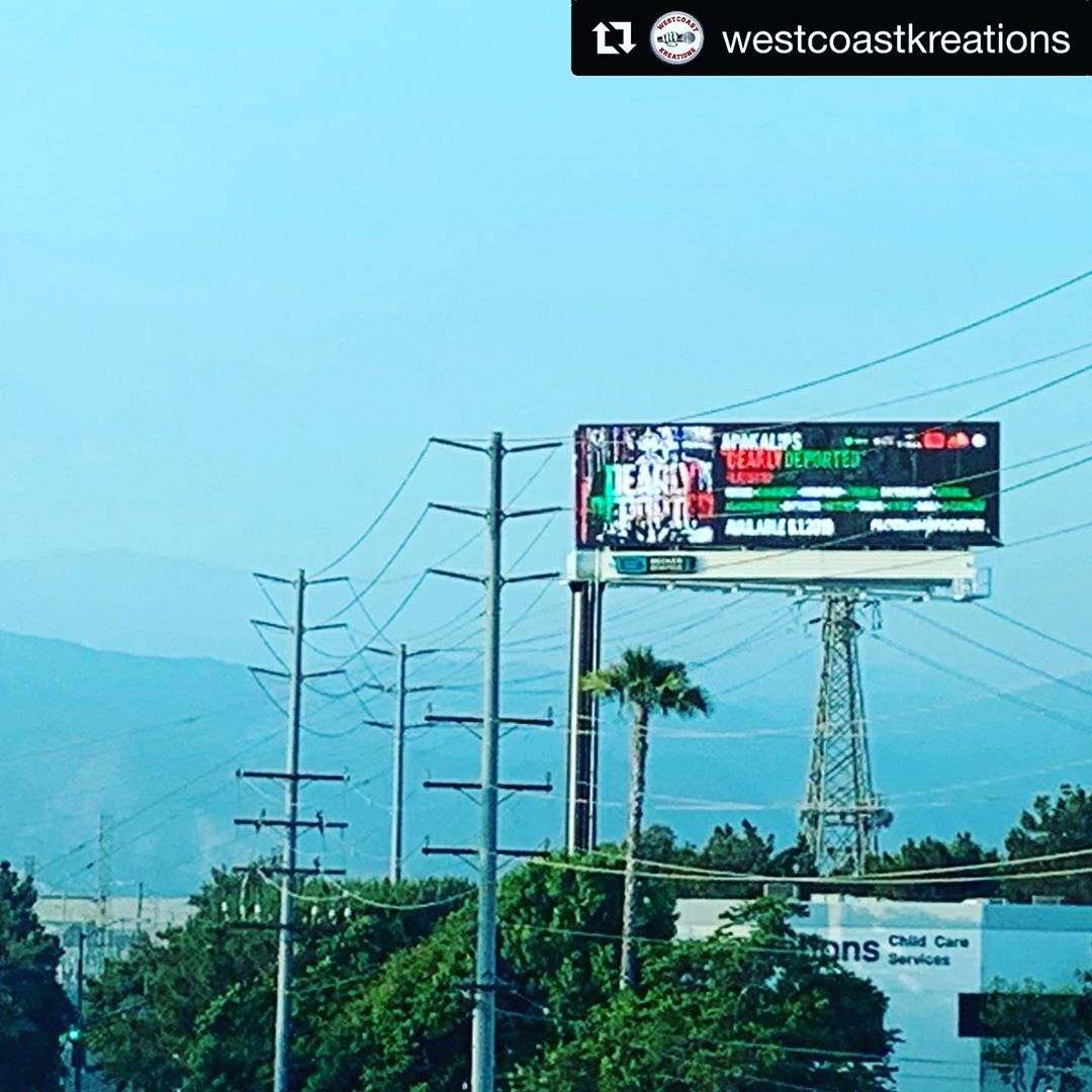 #Repost @westcoastkreations ・・・ Album out now on all platforms! Few pics I took ... 1