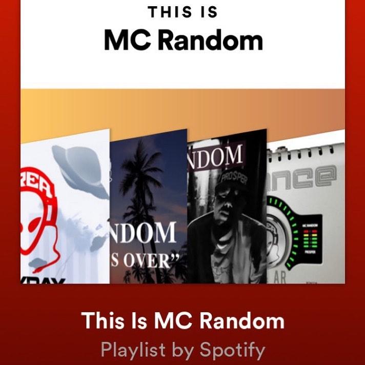 When Spotify creates a playlist called This is MC Random ️@area51random #spotify... 1