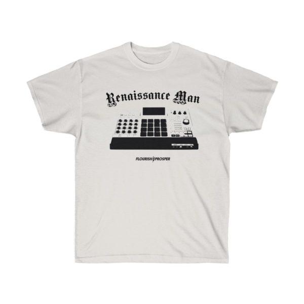 MPC Renaissance Man Ash Grey T-Shirt for Music Producers 1