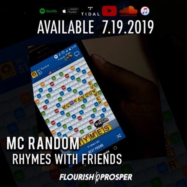"""MC Random's """"Rhymes with Friends"""" Drops tomorrow. Check out this sneak peak of """"... 1"""