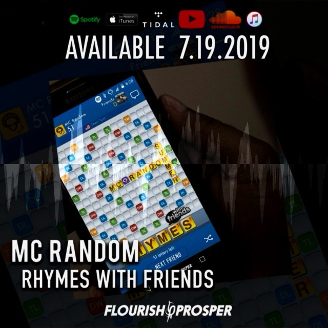 """Monday Vibes from MC Random's @area51random """"Rhymes with Friends"""" Check out this... 1"""