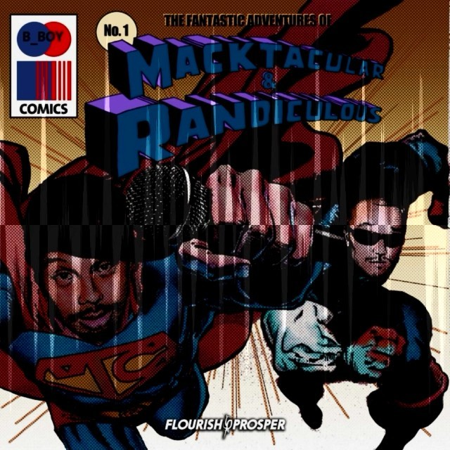 "NOT GUILTY from ""Fantastic Adventures of Macktacular & Randiculous"" hip hop coll... 1"