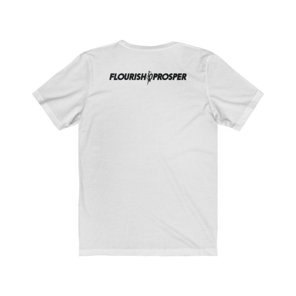 Unisex F$P Flourish and Prosper Square Logomark Premium Jersey Short Sleeve T-Shirt 2