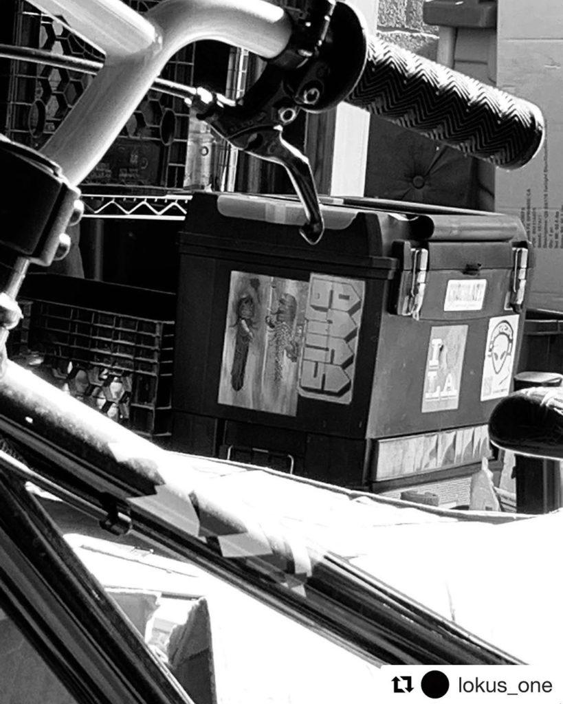 #Repost @lokus_one ・・・ #syla #area51 #IloveLA #giantbikes #51hiphop #flourispro...