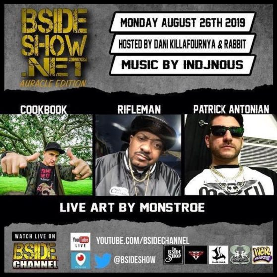 Tune in tomorrow night @bsideshow we will be in the building, with @patrickanton...