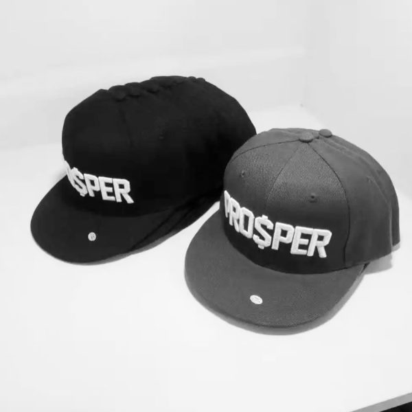 Exclusive *Founders Edition* PRO$PER snapback hats in green, navy blue and black. ...