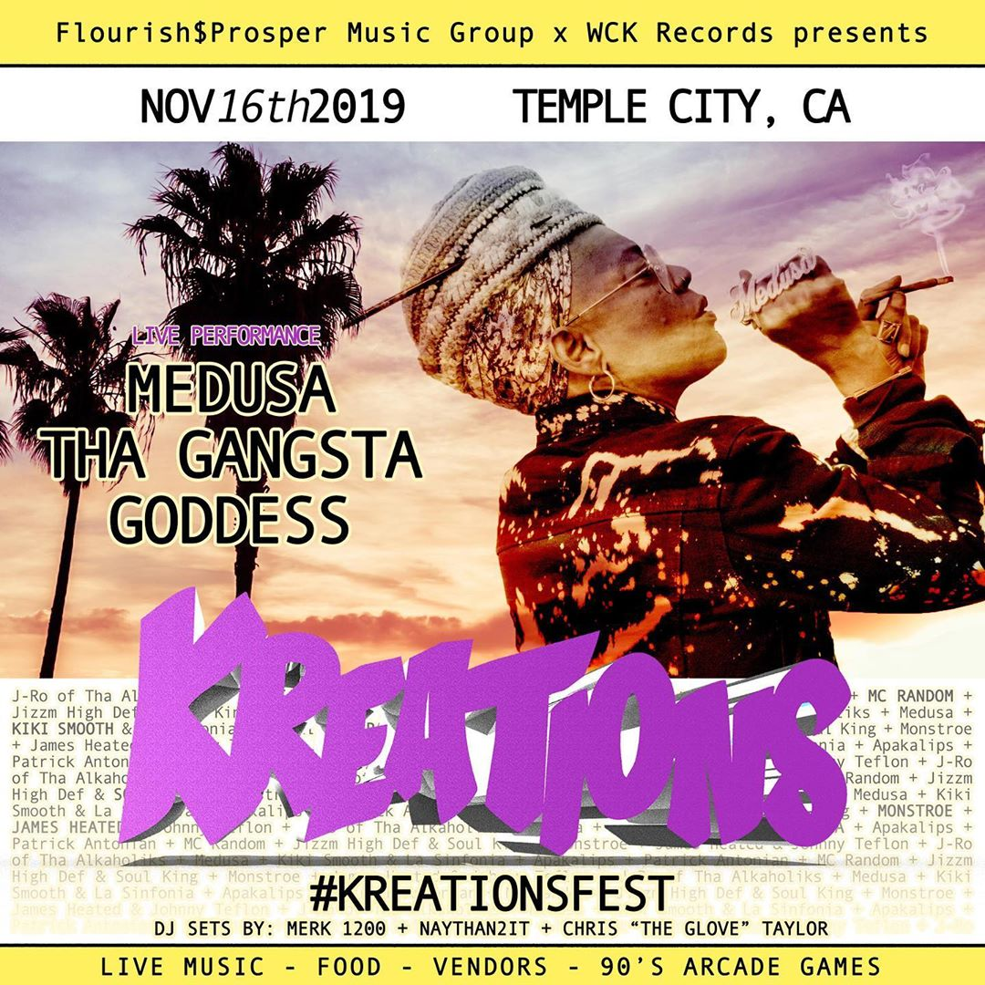 #kreationsfest brought to you by @flourishprosper and @wckrecords this November ...