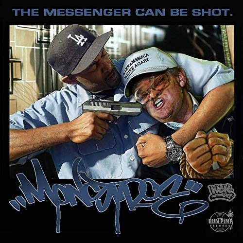 Monstroe The Messenger Can Be Shot cover album artwork