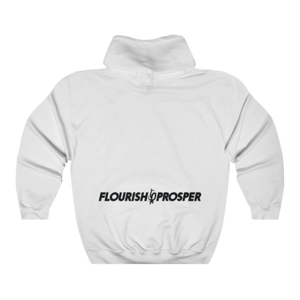 "F$P ""West Coast"" Flipped Hoodie (White) 2"