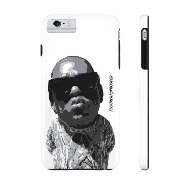 "F$P ""Baby Notorious BIG Coogi"" Black & White Custom Mobile Phone Case (iPhone) 15"