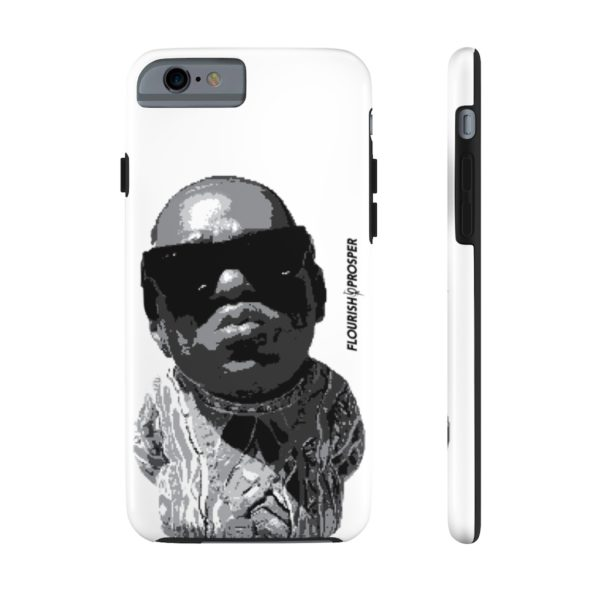 "F$P ""Baby Notorious BIG Coogi"" Black & White Custom Mobile Phone Case (iPhone) 14"