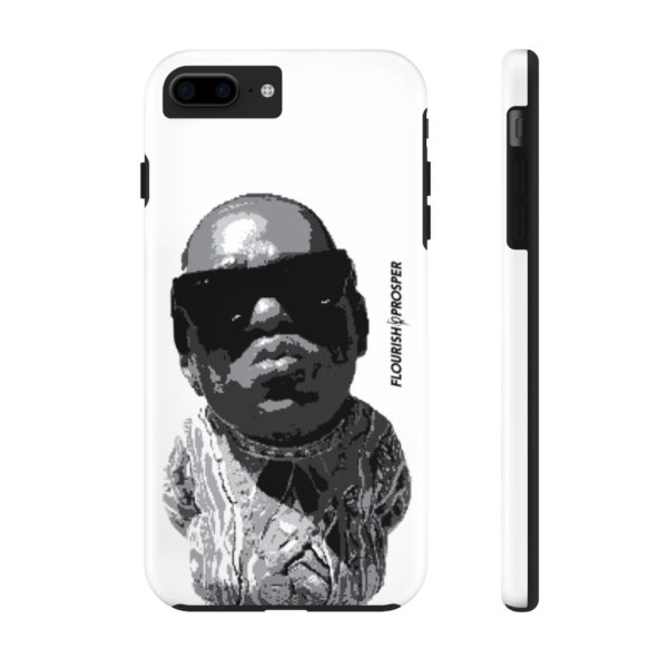 "F$P ""Baby Notorious BIG Coogi"" Black & White Custom Mobile Phone Case (iPhone) 13"