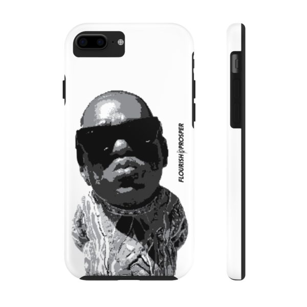 "F$P ""Baby Notorious BIG Coogi"" Black & White Custom Mobile Phone Case (iPhone) 12"