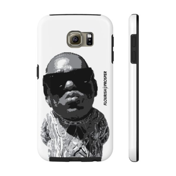 "F$P ""Baby Notorious BIG Coogi"" Black & White Custom Mobile Phone Case (iPhone) 11"