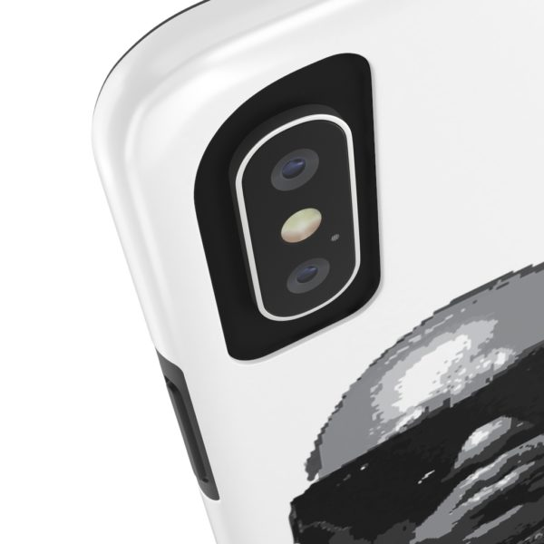 "F$P ""Baby Notorious BIG Coogi"" Black & White Custom Mobile Phone Case (iPhone) 8"