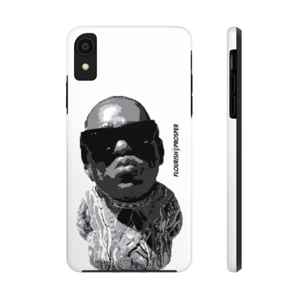 "F$P ""Baby Notorious BIG Coogi"" Black & White Custom Mobile Phone Case (iPhone) 2"