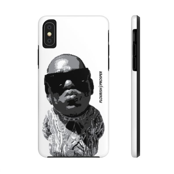 "F$P ""Baby Notorious BIG Coogi"" Black & White Custom Mobile Phone Case (iPhone) 3"