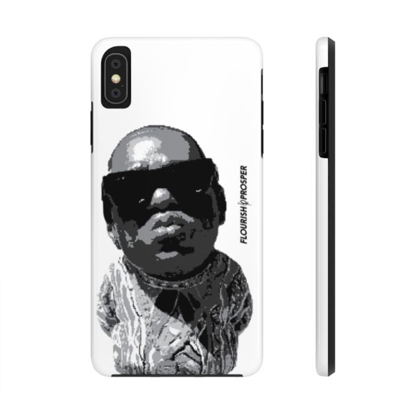 "F$P ""Baby Notorious BIG Coogi"" Black & White Custom Mobile Phone Case (iPhone) 4"