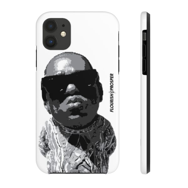 "F$P ""Baby Notorious BIG Coogi"" Black & White Custom Mobile Phone Case (iPhone) 5"