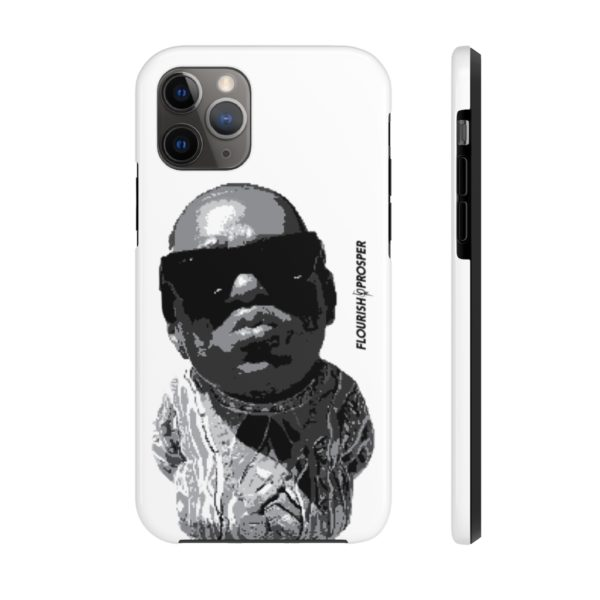 "F$P ""Baby Notorious BIG Coogi"" Black & White Custom Mobile Phone Case (iPhone) 1"