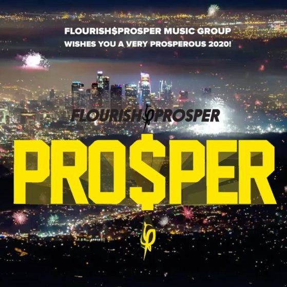 Happy New Year! Wishing everyone a prosperous new decade. #flourishprosper #happ...