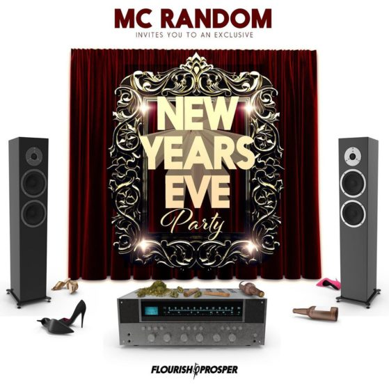 You are cordially invited to a New Year's Eve party. Go to soundcloud and type i...