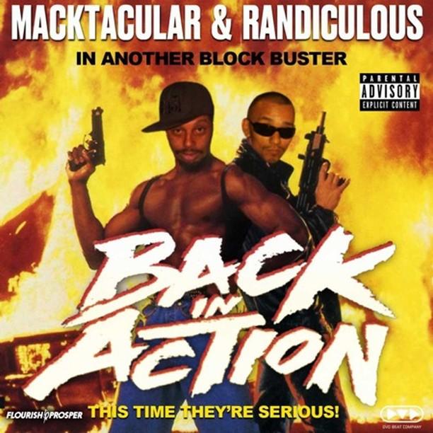 Macktacular & Randiculous: Back In Action - MC Random & Mackadena  #raptalk #flo...